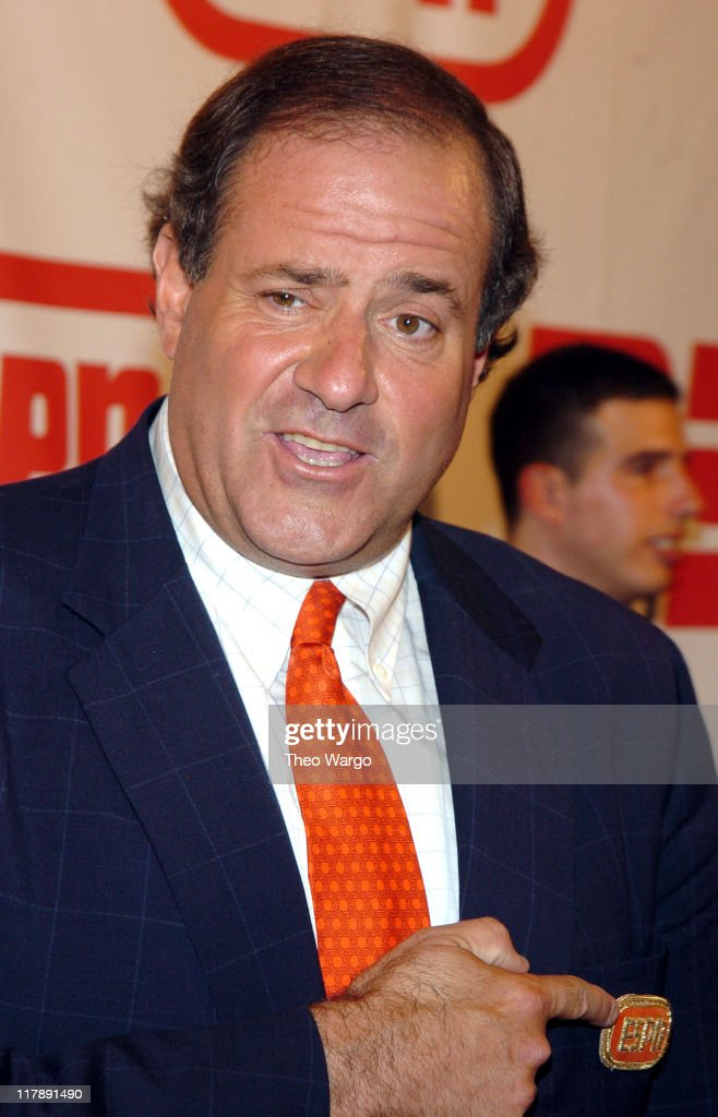 Chris Berman during ESPN's 25th Anniversary Celebration - Arrivals at ESPN Zone - Times Square in New York City, New York, United States.