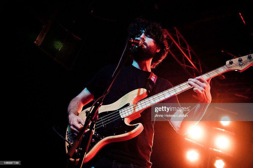 Chris Bierden of American band Polica performs live during a concert at Postbahnhof on November 14 2012 in Berlin, Germany.