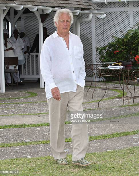 Chris Blackwell The Record Producer Who Discovered Bob Marley Seen At Strewberry Hills During Prince Charles And Camilla Duchess Of Cornwall'S Visit...