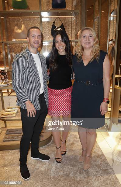 Chris Bletzer Alexa Boorstein and Anastacia K Stathakis are seen at InStyle x Jimmy Choo Boutique At Aventura Mall on October 11 2018 in Aventura...