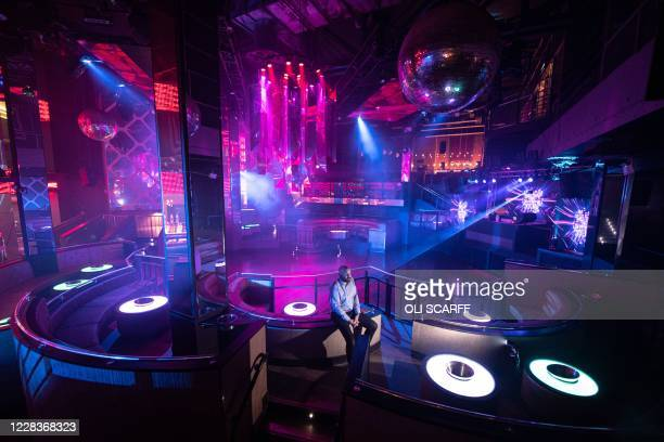 Chris Board, the General Manager of PRYZM nightclub in Birmingham, poses for a photograph in the superclub in Birmingham, central England on...