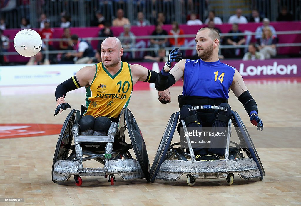 2012 London Paralympics - Day 8 - Wheelchair Rugby