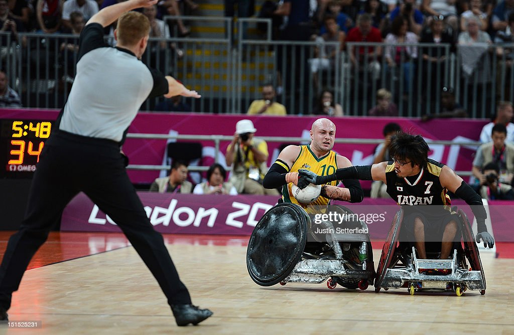 2012 London Paralympics - Day 10 - Wheelchair Rugby