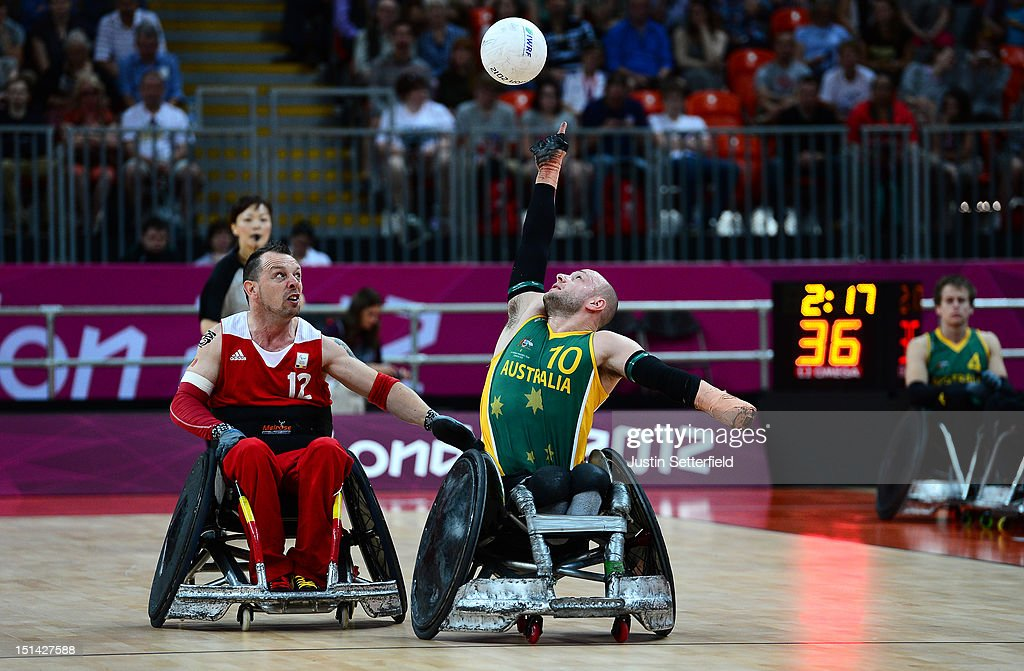 2012 London Paralympics - Day 9 - Wheelchair Rugby