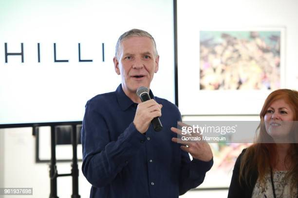 Chris Boot during the Humane Society Of New York In Partnership With Aperture Foundation Fine Art Photography Benefit Auction on May 23 2018 in New...