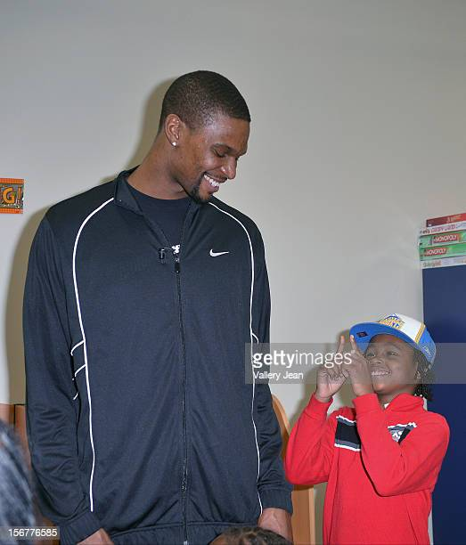 Chris Bosh and Team Tomorrow Inc team up for the 2nd year with Chapman Partnership to feed the local families of Miami this Thanksgiving on November...