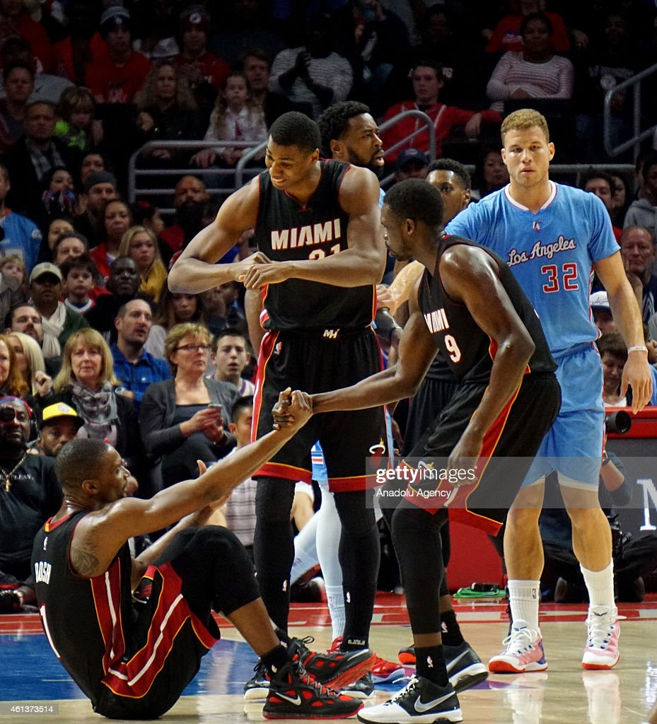 Los Angeles Clippers vs Miami Heat : News Photo