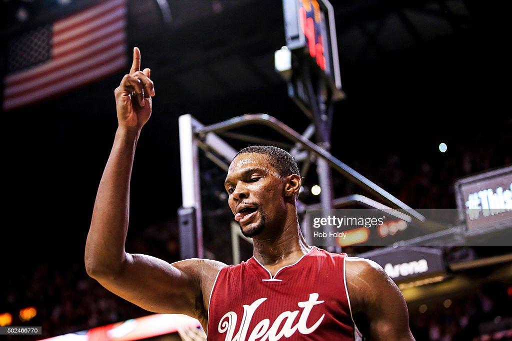 New Orleans Pelicans v Miami Heat : News Photo