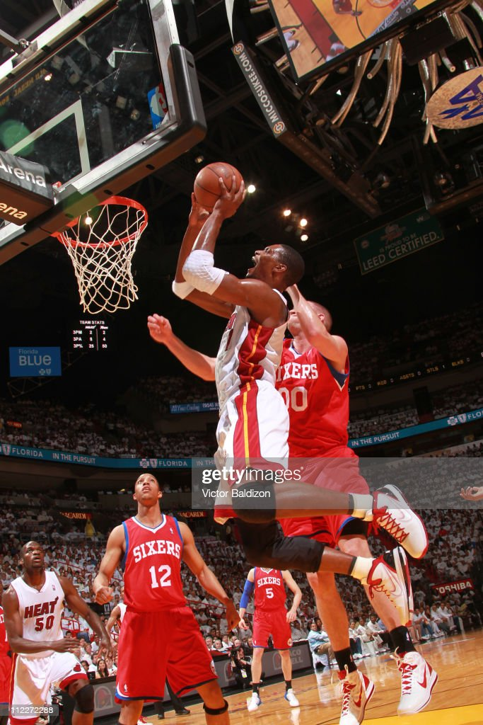 Philadelphia 76ers v Miami Heat - Game One