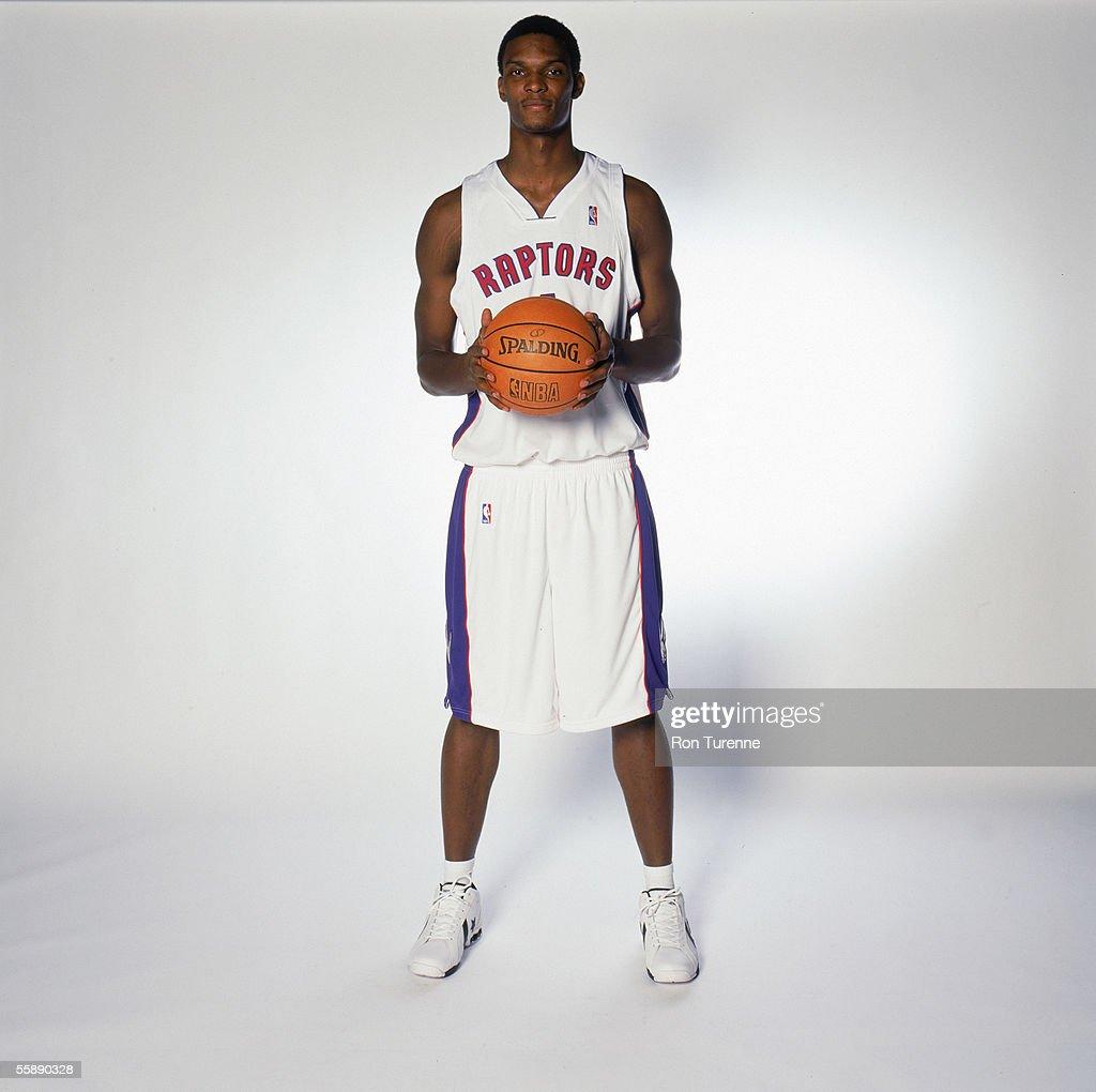 NBA: Toronto Raptors Media Day 2005 : News Photo