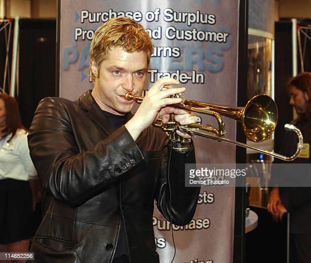 Chris Botti during Chris Botti Plays at Micro Exchange Booth at Las Vegas Convention Center in Las Vegas, Nevada, United States.
