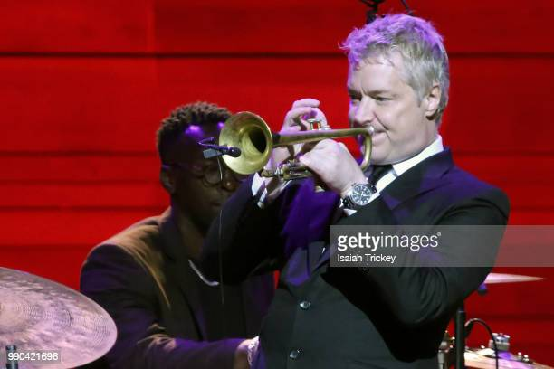 Chris Botti performs during the 2018 Montreal International Jazz Festival at Symphonic House of Montreal on July 2 2018 in Montreal Canada