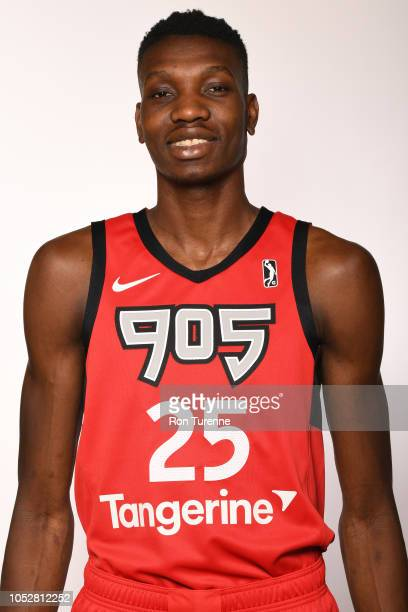 Chris Boucher of Raptors 905 poses for a head shot during the NBA GLeague media day at Paramount Fine Foods Centre in Mississauga Ontario Canada on...