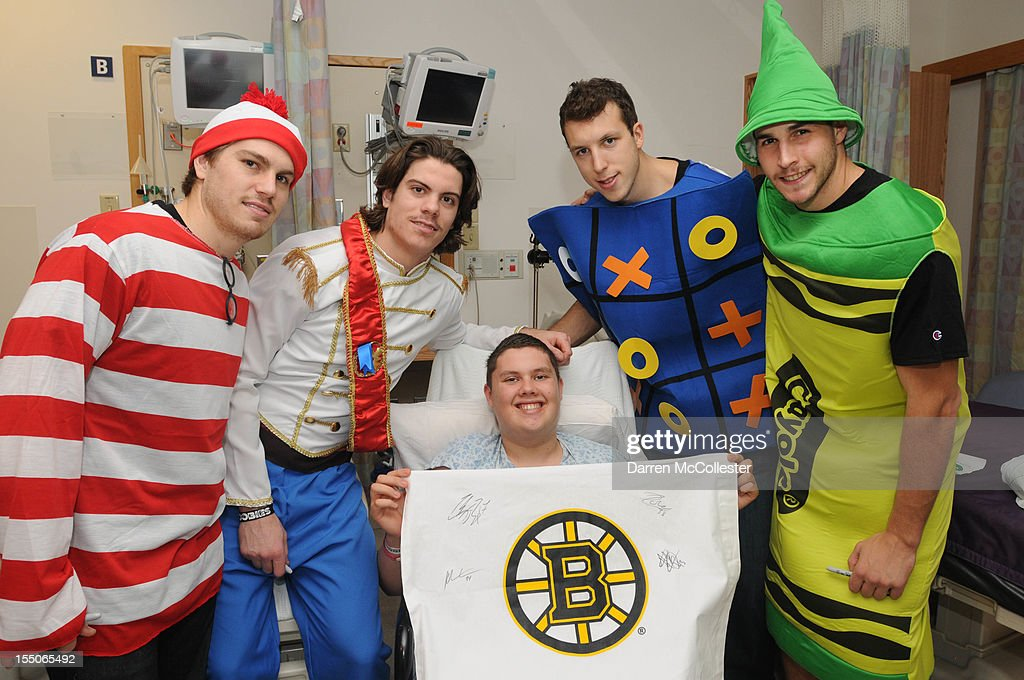 Boston Children's Hospital's Costume Party With The Providence Bruins