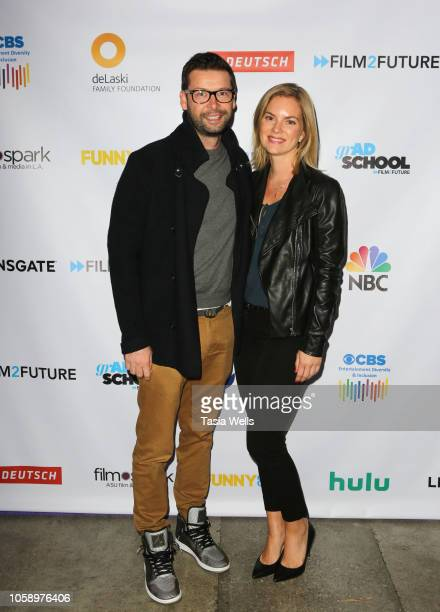 Chris Boyd and Cindy Busby attend the Film2Future Year 3 Gala on November 7 2018 in Los Angeles California