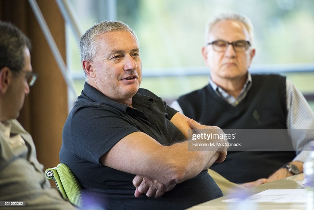 Chris Boyd, Head Coach of the Hurricanes Super Rugby team during the Leaders P8 Summit at the National Tennis Centre on November 7, 2016 in London, England.
