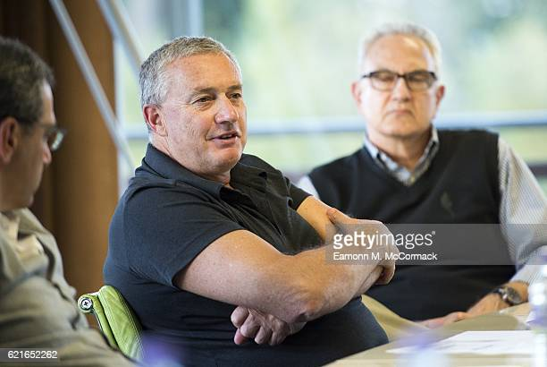 Chris Boyd Head Coach of the Hurricanes Super Rugby team during the Leaders P8 Summit at the National Tennis Centre on November 7 2016 in London...