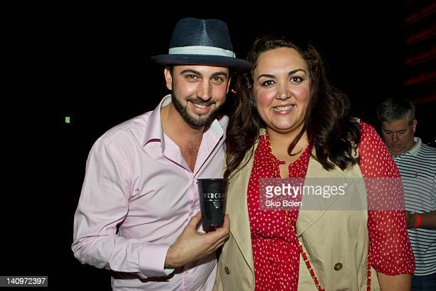Chris Brancato and publicist Lauren Lagarde at the Matthew Arthur Presentation at AIA New Orleans during Fall/Winter 2012 NOLA Fashion Week on March...