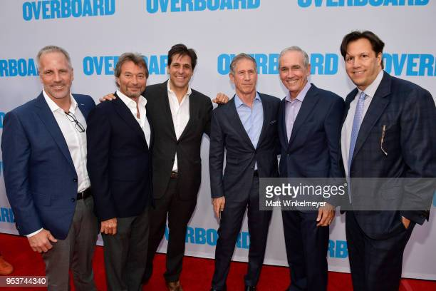 Chris Brearton, Patrick Wachsberger, Jonathan Glickman, John Feltheimer, Jim McNamara and Paul Presburger attend the Premiere of Lionsgate and...