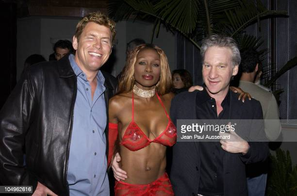 Chris Breed owner White Lotus Coco Johnsen and Bill Maher