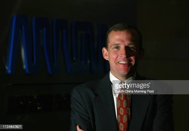 Chris Breslin Vice President for Supplier Marketing Management of Arrow Asia Pac Ltd in their office in Ever Gain Tower Kwai Chung 12 July 2004