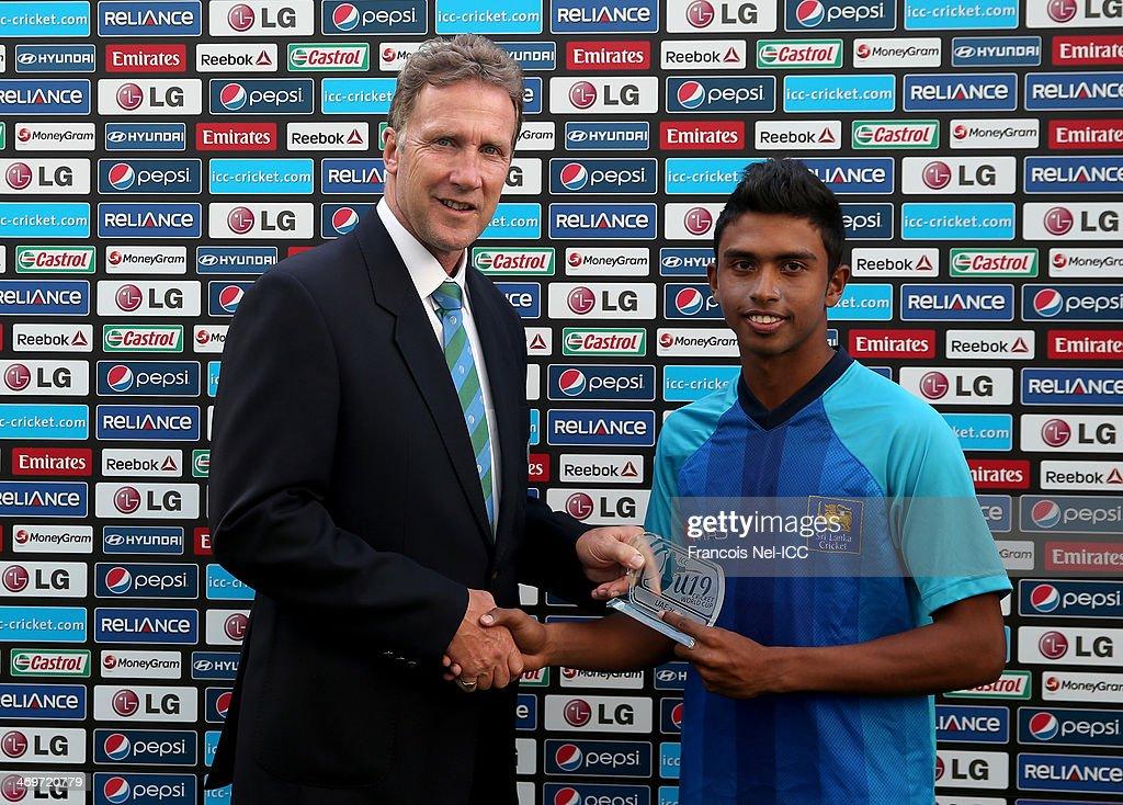 ICC Under 19 World Cup - England v Sri Lanka