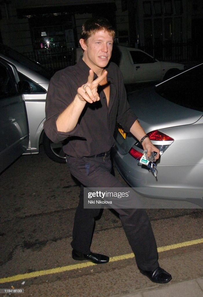 Celebrity Sightings at Claridges in London - September 27, 2006