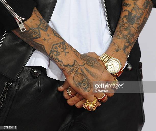 Worlds Best Chris Brown Tattoo Stock Pictures Photos And
