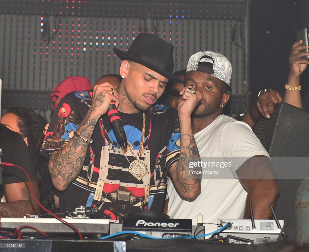 Chris Brown attends playhouse on June 29, 2014 in Los Angeles, California.