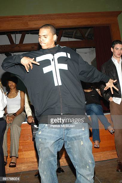 Chris Brown attends Teen People's Fourth Annual ARTIST OF THE YEAR Event at ELEMENT on November 22 2005