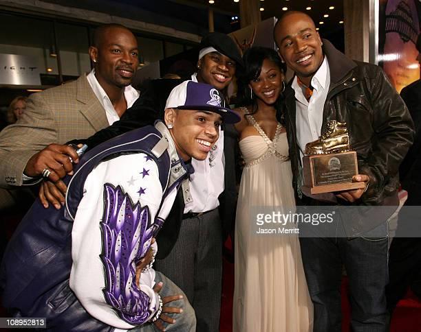 Chris Brown Darrin Henson NeYo Meagan Good and Columbus Short