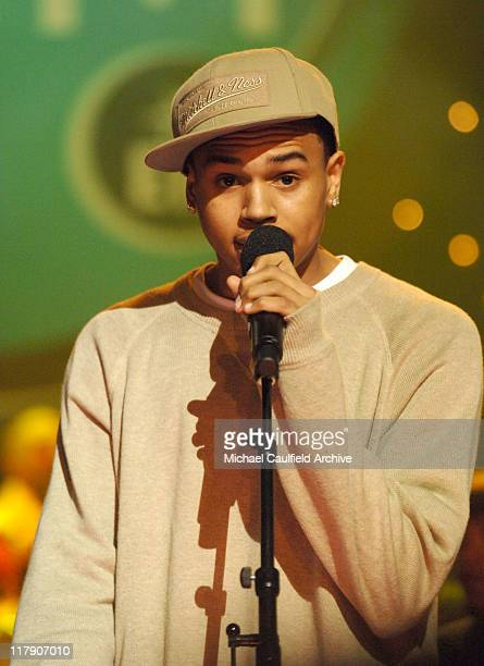 Chris Brown during The Recording Academy and EIF Hosts the Second Annual GRAMMY Jam Show at Orpheum Theatre in Los Angeles California United States