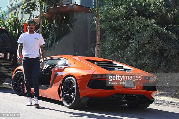 Chris Brown is seen on November 06 2012 in Los Angeles California