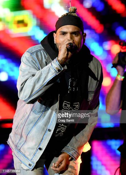 Chris Brown performs onstage at SOMETHING IN THE WATER Day 3 on April 28 2019 in Virginia Beach City