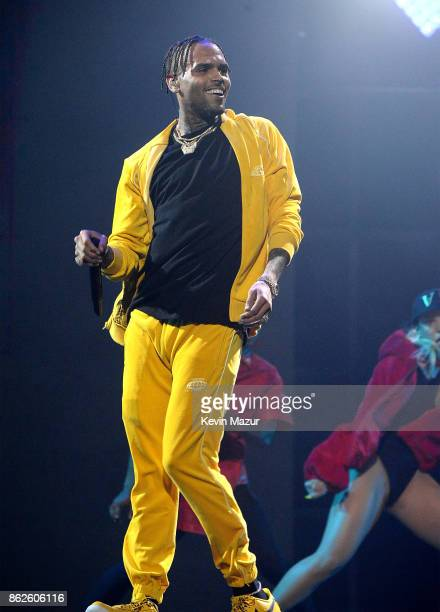 Chris Brown performs onstage during TIDAL X Brooklyn at Barclays Center of Brooklyn on October 17 2017 in New York City