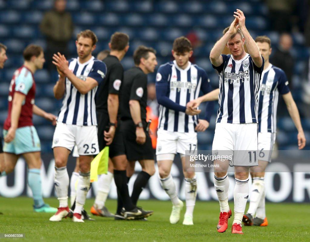 West Bromwich Albion v Burnley - Premier League : News Photo