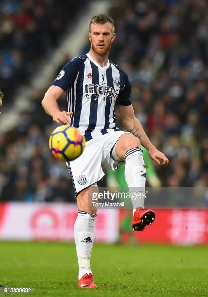 Chris Brunt of West Bromwich Albion during the Premier League match between West Bromwich Albion and Southampton at The Hawthorns on February 3 2018...