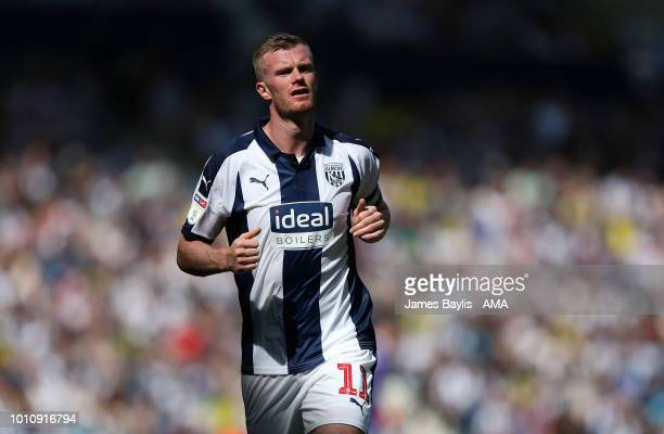 Chris Brunt of West Bromwich Albion during the Sky Bet Championship match between West Bromwich Albion and Bolton Wanderers at The Hawthorns on...