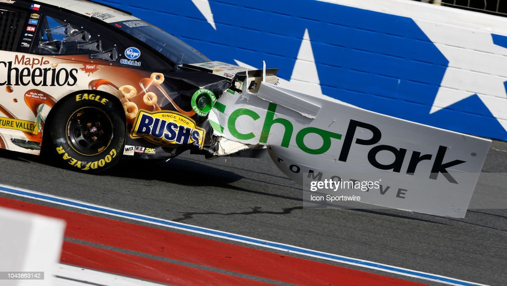 AUTO: SEP 30 Monster Energy NASCAR Cup Series Playoff Race - Bank of America ROVAL 400 : News Photo