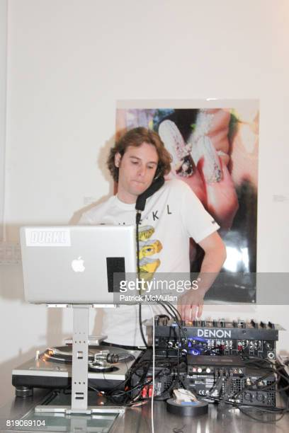 Chris Burns attends PYT Pretty Young Thing cocurated by Anne Huntington Diana Campbell at 833 Broadway on May 22 2010 in New York City