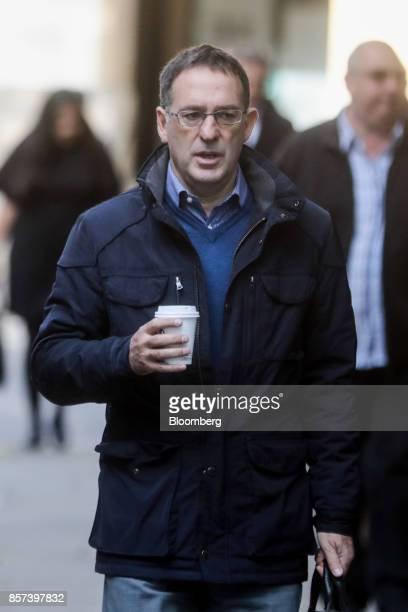 Chris Bush former UK managing director for Tesco Plc arrives at Southwark Crown Court in London UK on Wednesday Oct 4 2017 A senior Tesco...
