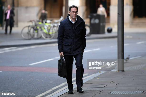 Chris Bush former UK managing director for Tesco Plc arrives at Southwark Crown Court in London UK on Thursday Nov 2 2017 A senior Tesco Plc...