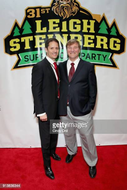 Chris Cabott and Leigh Steinberg attends Leigh Steinberg Super Bowl Party 2018 on February 3 2018 in Minneapolis Minnesota