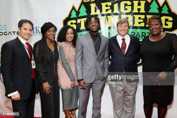 Chris Cabott Ronald Jones II and Leigh Steinberg attend Leigh Steinberg Super Bowl Party 2018 on February 3 2018 in Minneapolis Minnesota