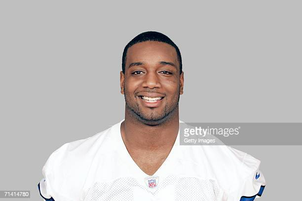 Chris Canty of the Dallas Cowboys poses for his 2006 NFL headshot at photo day in Dallas Texas