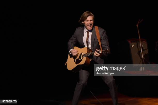 Chris Carmack performs onstage during CMT's Nashville In Concert Final Season Celebration at Grand Ole Opry House on March 25 2018 in Nashville...