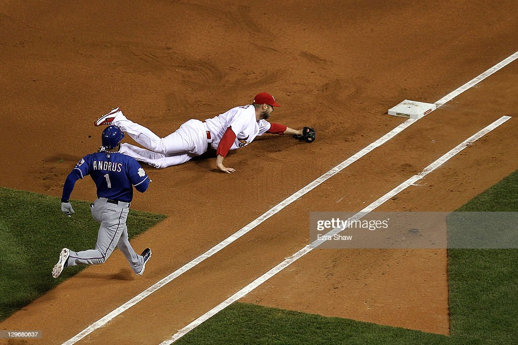 2011 World Series Game 1 -Texas Rangers v St Louis Cardinals