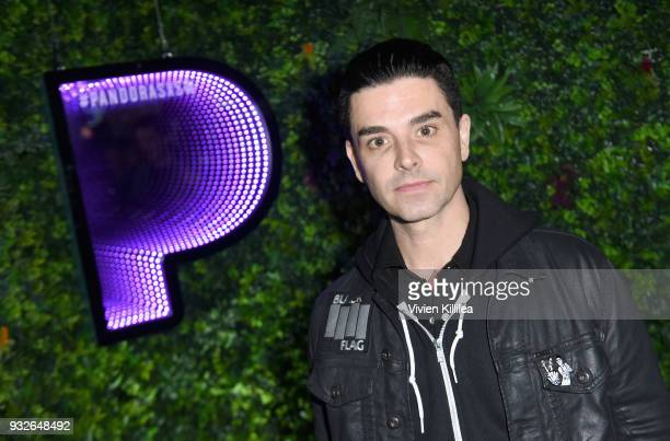 Chris Carrabba of Dashboard Confessional attends Pandora SXSW 2018 on March 15 2018 in Austin Texas