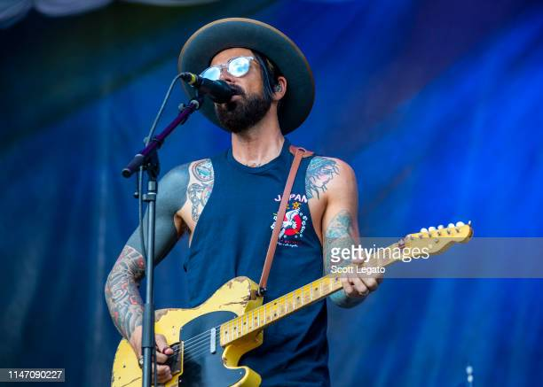 Chris Carrabba of Dashboard Confessional performs during day 1 of Shaky Knees Music Festival at Atlanta Central Park on May 03, 2019 in Atlanta,...