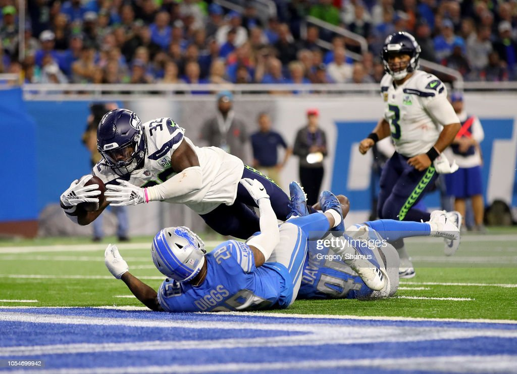 Seattle Seahawks v Detroit Lions : News Photo